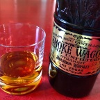 Smoke Wagon Uncut Unfiltered Straight Bourbon Whiskey