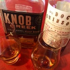 Comparison: Knob Creek ~15 Year Single Barrel / Doc Swinson's 15 Year Rare Release